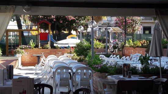 Hotel Restaurant Le Palme: tavoli