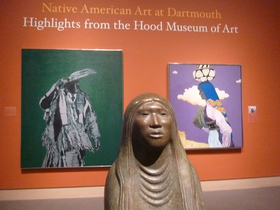 Hanover, NH: A favorite exhibition was the Native American Art at Dartmouth