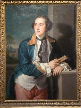 Hanover, Nueva Hampshire: Portrait of the Second Earl of Dartmouth