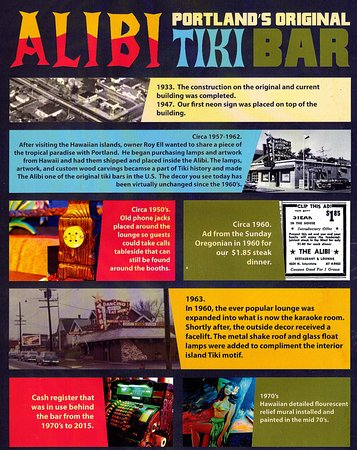 Alibi Restaurant and Lounge: The Early History of ALIBI