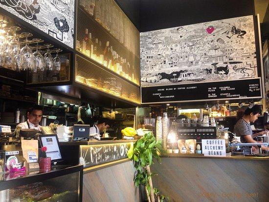 Enmore, Australia: Open Kitchen