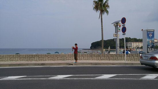 Shirahama Beach: I recommend going here early in the morning. Its a lot better than swimming in the middle of the