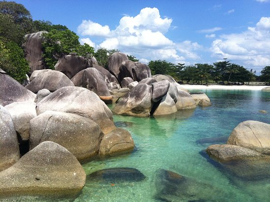 Tanjung Tinggi Beach: in Belitung Island, Indonesia