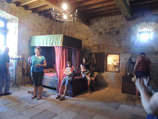 Chambre 5 etoiles photo de ch teau de montaigut gissac for Chambre 5 etoiles
