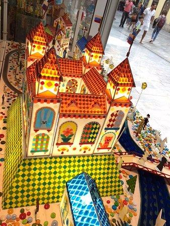 Bratislava castle from caramel