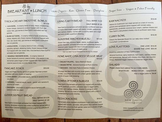 Coolum Beach, Avustralya: New Earth Cafe