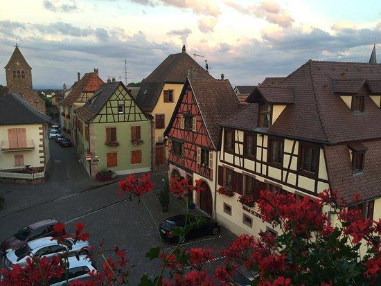 Kientzheim, فرنسا: View from our room