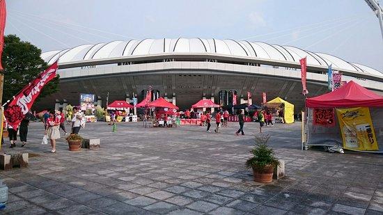 Kumamoto Athletics Stadium (Umakana Yokana Stadium) : フードコート