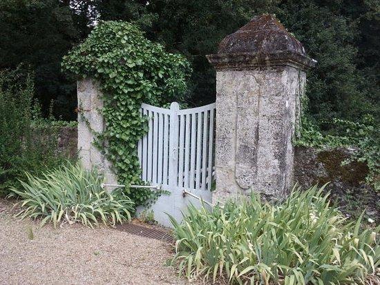 Sache, Francia: magnifique jardin