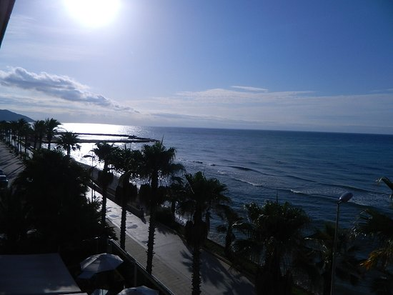 Sunway Playa Golf Hotel & Spa Sitges: vue est