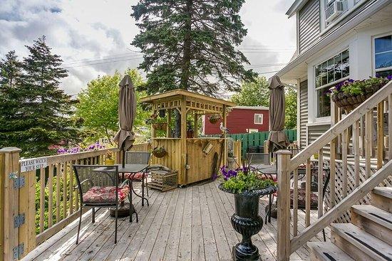 Carbonear, Canada: patio