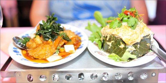 Labien Thai snc: plats poissons n° 16 et 17