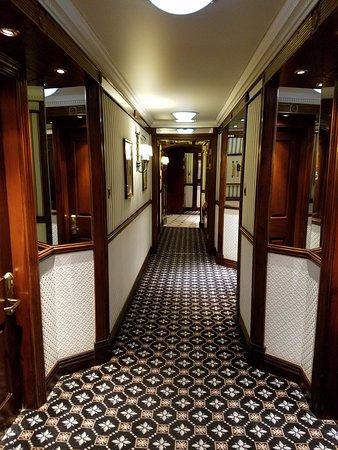 Hallways in Hotel 41