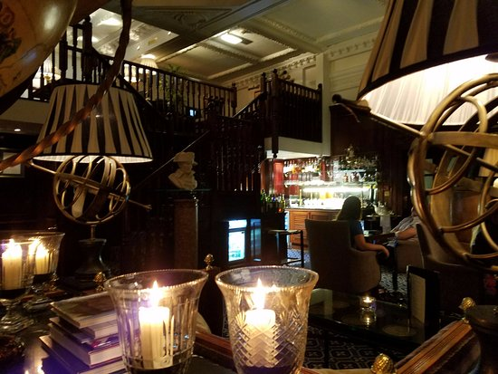 Hotel 41: Executive Lounge for nightcaps.