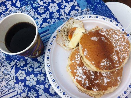 Savona, แคนาดา: breakfast