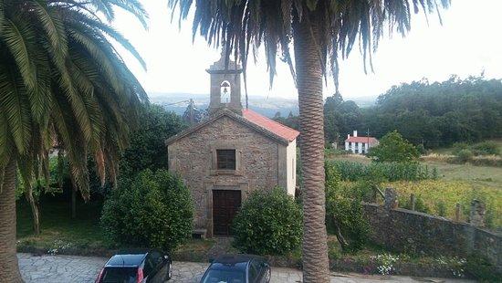 Vedra, España: Vistas desde la habitación