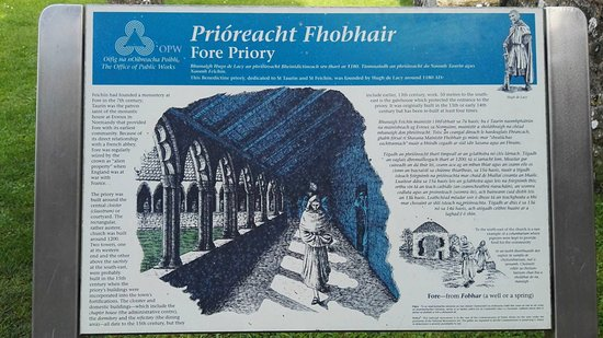 County Westmeath, Irland: Fore Abbey 2015