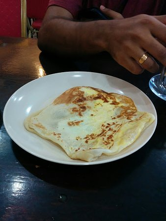 Scuba Junkie Restaurant: Roti Canai Telur