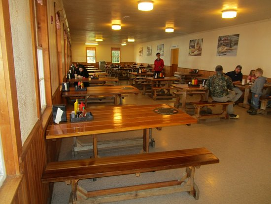 The Cookhouse - at Icy Strait Point: Cookhouse Restaurant - dining room