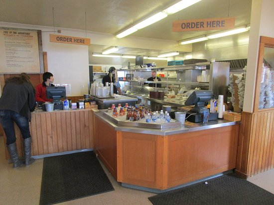 The Cookhouse - at Icy Strait Point: Cookhouse Restaurant - order counter