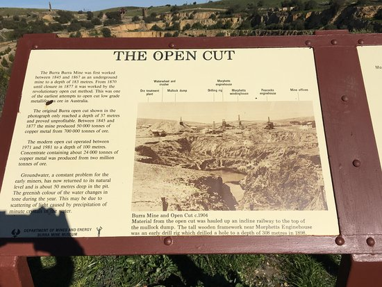 Burra, Australien: Description of mine