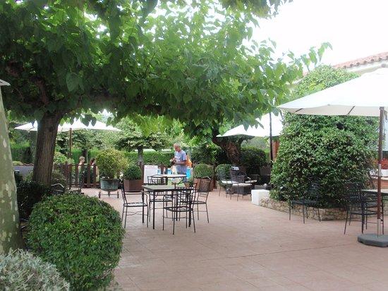 Sant Marti de Llemena, Spain: terraza