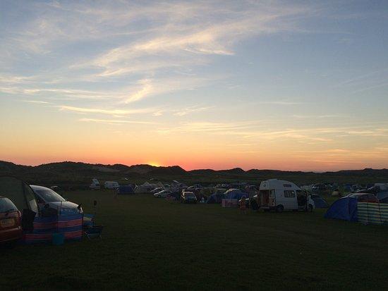 Hillend campsite