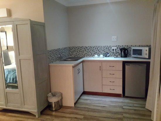 Queenstown, Sudáfrica: Kitchen area