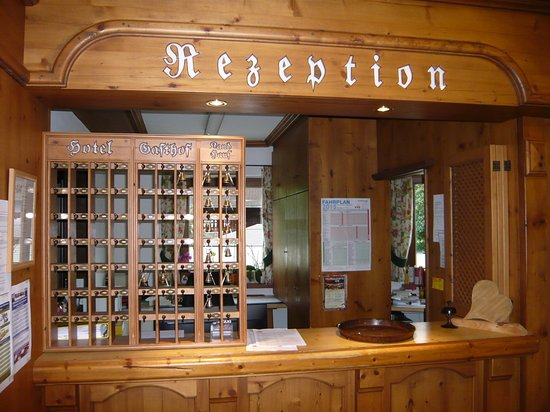 Rissbacher Hof: La reception