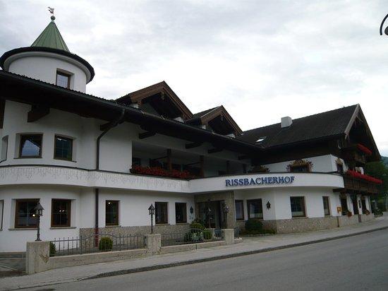 Rissbacher Hof: Vue du restaurant