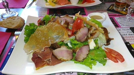 Francueil, Francja: Excellentes salades