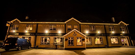 Bridgend, Ierland: The Frontier Hotel.