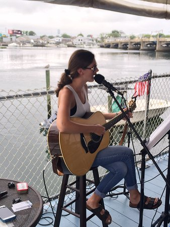 Belmar, NJ: Kathleen Elle on Guitar