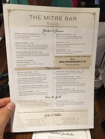 The Mitre Bar: photo1.jpg