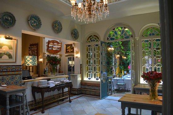 Restaurante la casa del tesorero en sevilla con cocina mediterr nea - Casa manolo leon sevilla ...