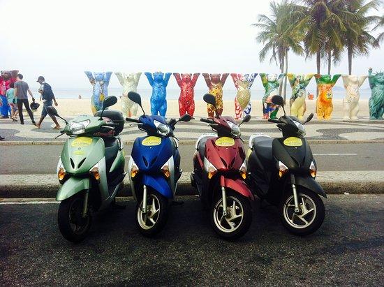 moto scooter rio de janeiro