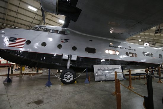 New England Air Museum: A Sikorsky Excambian seaplane