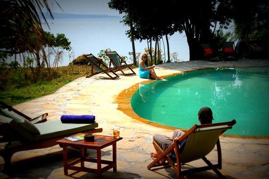 The Pool at Rubondo Island Camp