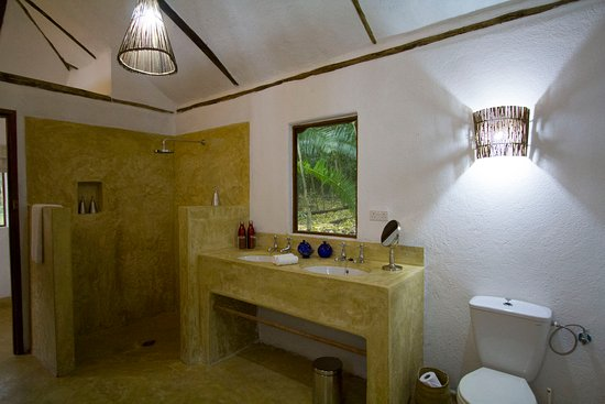 The Bathroom at Rubondo Island Camp
