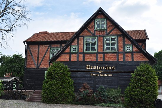 Vecais Kapteinis: Здание ресторана