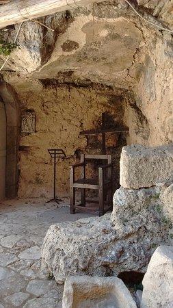 Preci, Italie : grotte degli eremiti