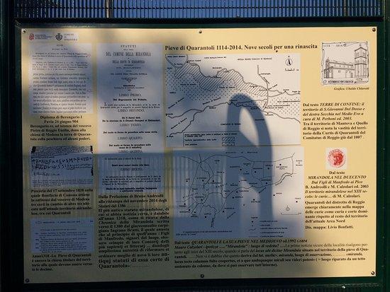 Quarantoli, Italia: Spiegazioni storiche