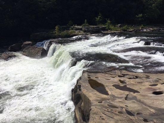 Ohiopyle, PA: Small falls.