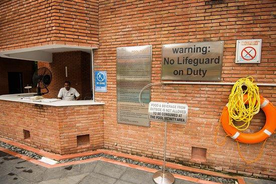 ITC Mughal, Agra: common pool area
