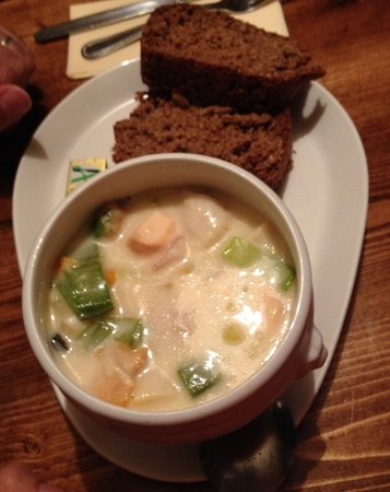 Letterfrack, Ierland: Veldon's - chowder