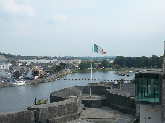 Athlone, Irland: View from the castle