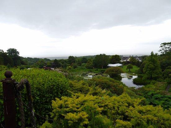 Dunragit, UK: Tess's Lookout at Glenwhan Gardens