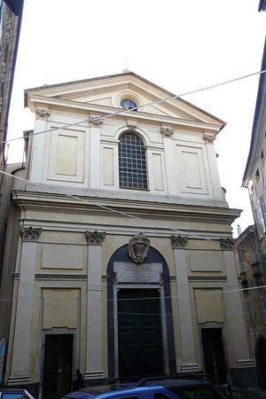 Taggia, Italie : Basilica Santi Filippo e Giacomo