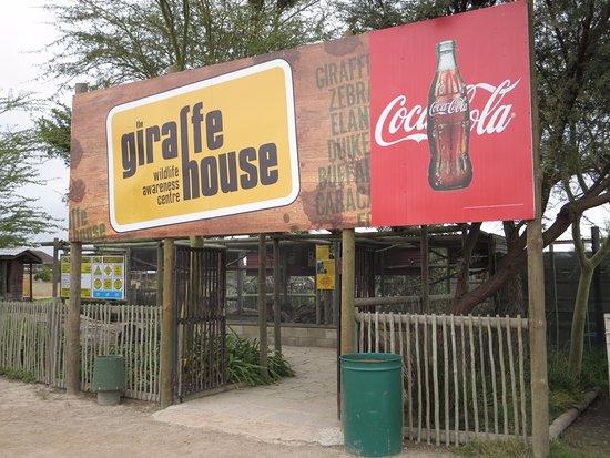 Giraffe House Wildlife Awareness Centre: entrance
