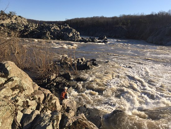 Billy Goat Trail: Plenty of fun places to explore!